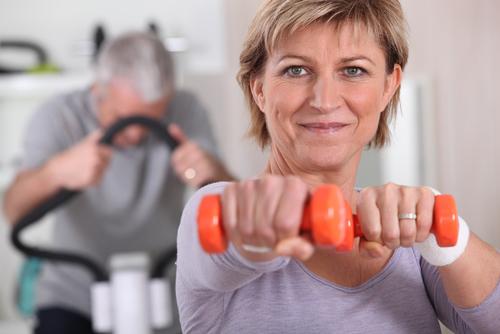 trainen met gewicht
